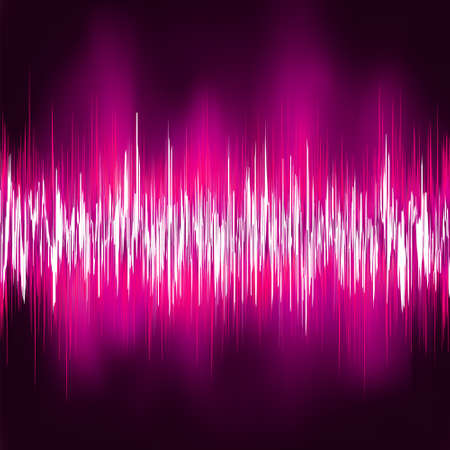 Abstract purple waveform. EPS 8 vector file included Stock Vector - 11474823