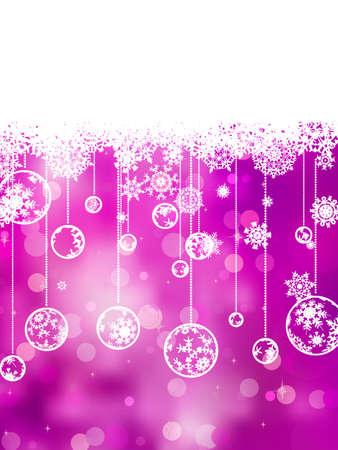 Elegant christmas background.  Stock Vector - 11585434