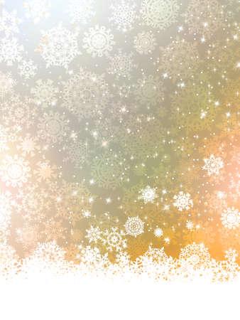 magic ball: Merry Christmas Greeting Card.
