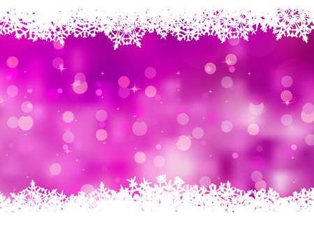 Purple background with snowflakes. EPS 8 vector file included Vector