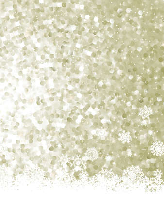 Christmas decoration background with copy space.  Vector