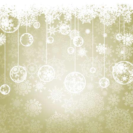 Beautiful elegant happy Christmas card,winter holiday background. Illustration
