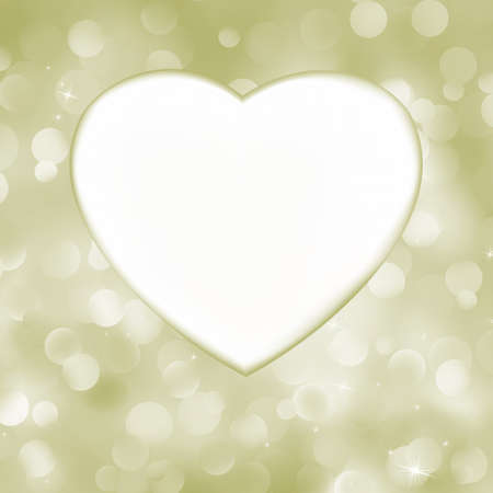 Elegant valentine heart card.