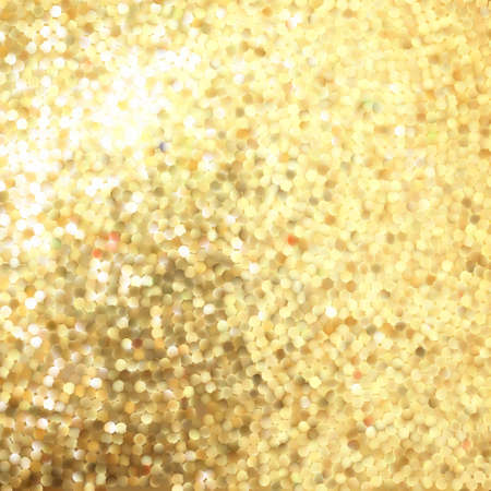 Golden mosaic. Abstract background. EPS 8 vector file included Vector
