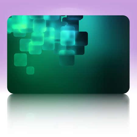 Beautiful gift card. Stock Vector - 12273437