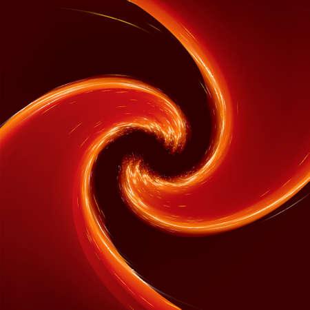 gold swirls: Abstract glow Twist background with golden flow.
