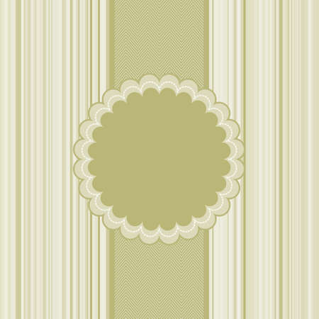 Elegant greeting card template.  Vector