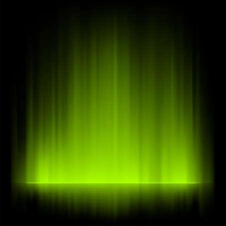 Aurora borealis background. Illustration