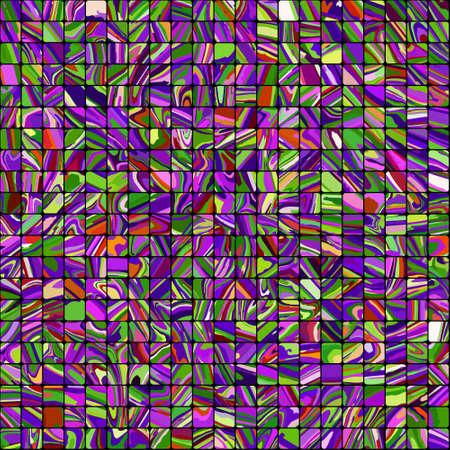 prisma: Multicolor fondo de mosaico Vectores