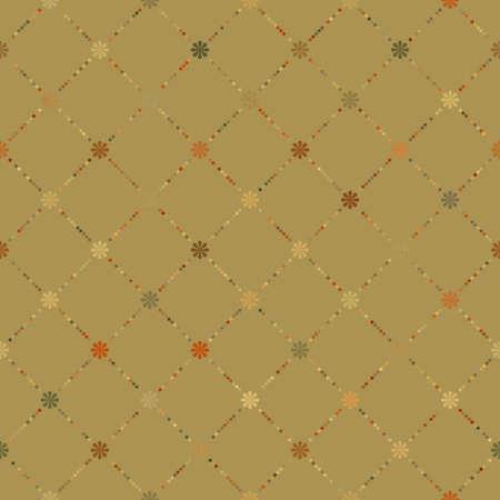 Retro dot pattern background