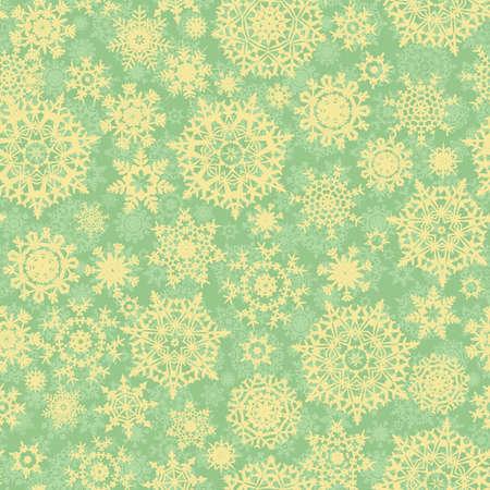 Christmas pattern snowflake background, seamless illustration Vector