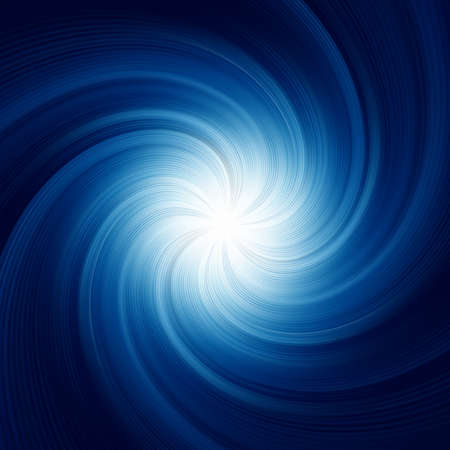 wheel spin: Blue Twirl Background illustration