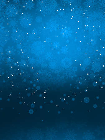 Christmas background with snowflakes  EPS 8 vector file included Vector