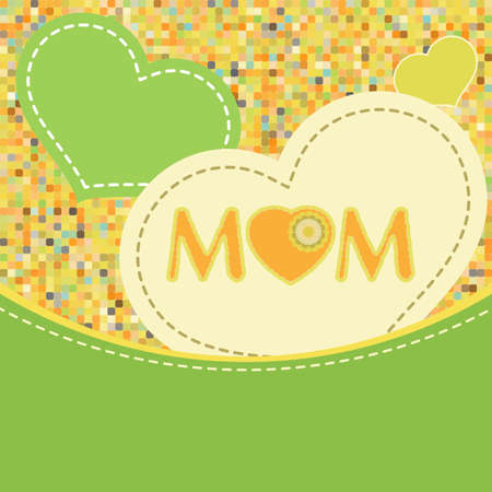 Happy Mother s Day   Stock Vector - 13059126