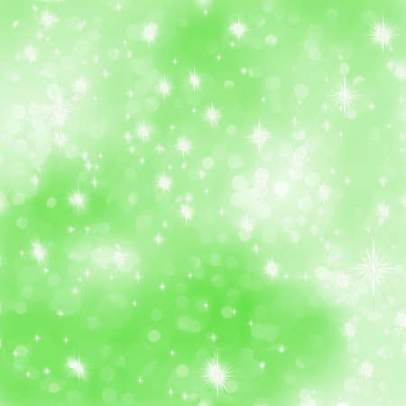 Glittery green Christmas background  Vector