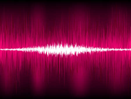 Abstract purple waveform vector background  EPS 8 vector file included Stock Vector - 13227669