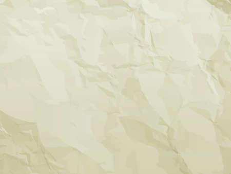 Elegantes pliegues con textura de papel viejo y las manchas. Archivo EPS 8 vector incluido Ilustración de vector