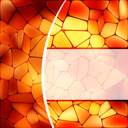 web2: Stained glass design template