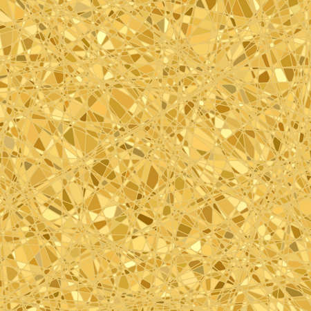 Gold mosaic background   Stock Vector - 13305675