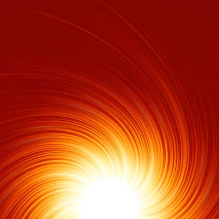 red swirl: Estratto Twist sfondo bagliore con il flusso di fuoco