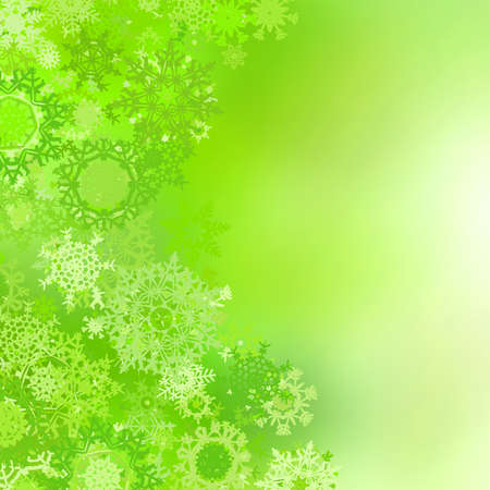 festive occasions: Christmas background with snowflakes