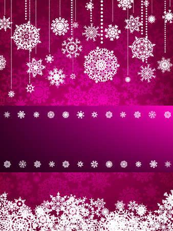 christmas greeting card: Beige christmas background with christmas snowflake