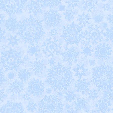 Seamless light blue christmas texture pattern Vector
