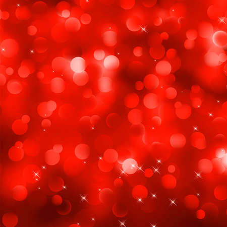 Glittery red Christmas background
