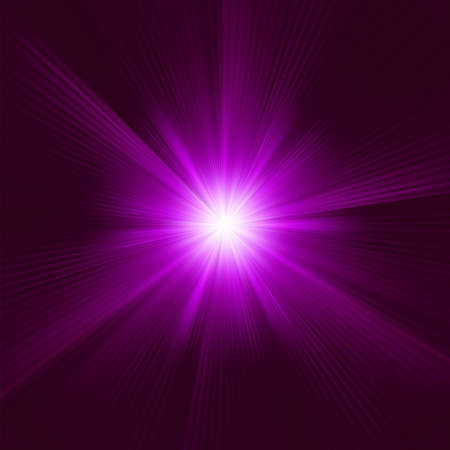 A purple color design with a burst. Stock Vector - 14077075