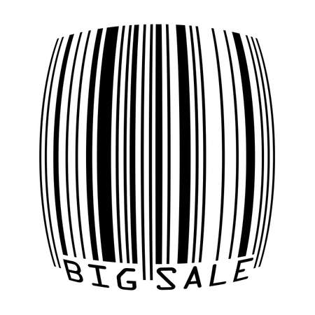 Big Sale bar codes all data is fictional Stock Vector - 14242948