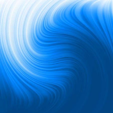 Resumen de antecedentes resplandor giro con el flujo de azul
