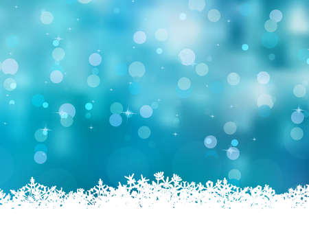 christmas backdrop: Blue background with snowflakes  file included