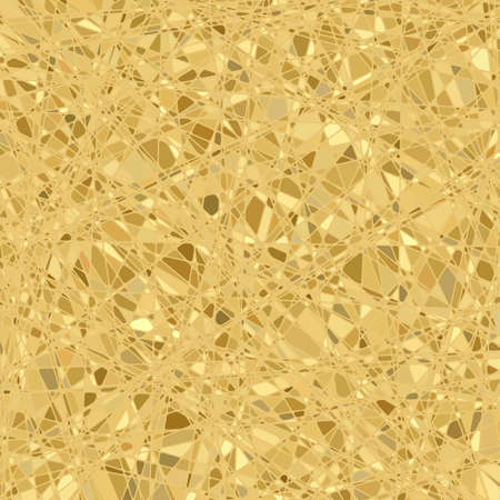 Gold mosaic background  file included Vector