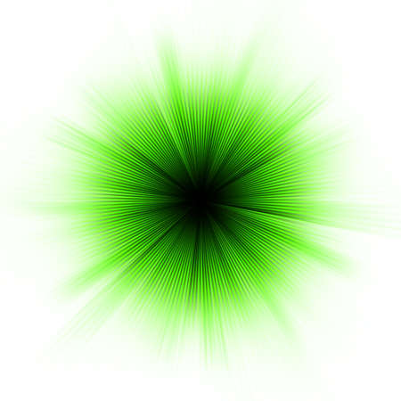 Abstract burst on white Vector