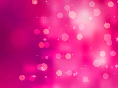 pink christmas: Elegant christmas background with bokehs