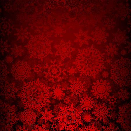 xmas decoration: Seamless deep red christmas texture pattern