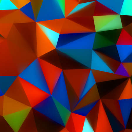 Abstract 3d geometric lines modern grunge vector background  EPS 8 vector file included  photo