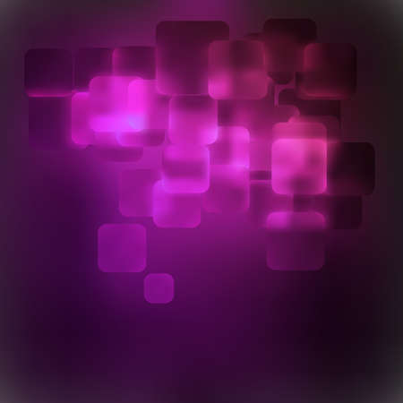 Purple abstract 3D warped square background  file included Vector
