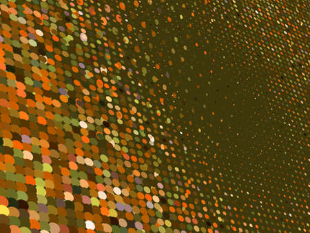 3D Colorful Dots Abstract  Vector