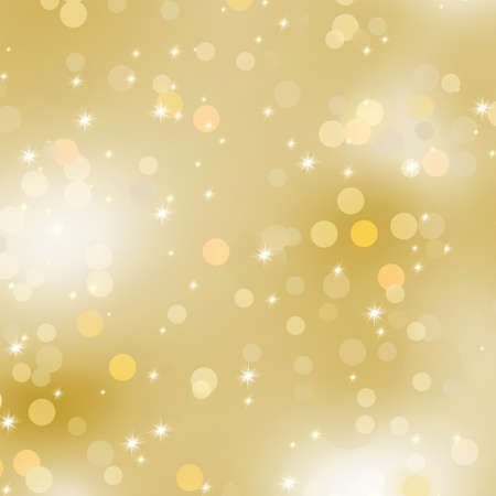 gold christmas background: Glittery gold Christmas background   Illustration