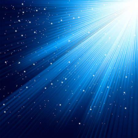 star burst christmas: Snowflakes and stars