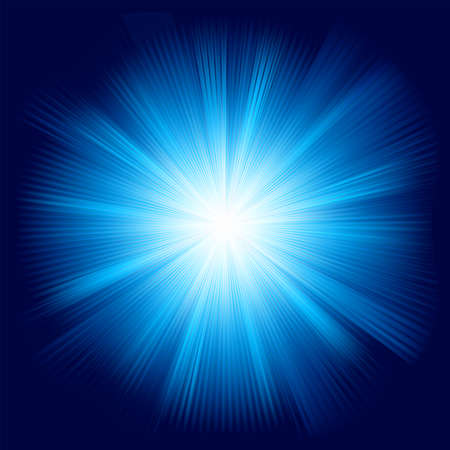A Blue color design with a burst  EPS 8 vector file included  Stock Vector - 14736180