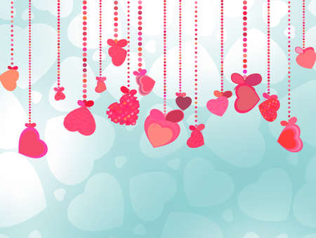st valentines day: Valentines Day Background  EPS 8 vector file included Illustration