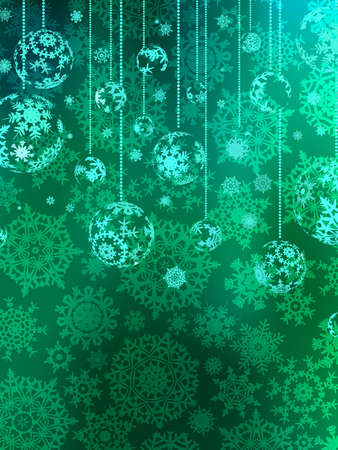 Abstraction blue Christmas background  EPS 8 vector file included Vector