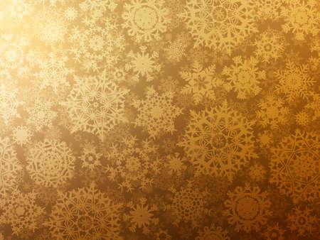 Golden elegant christmas template Stock Vector - 14956928