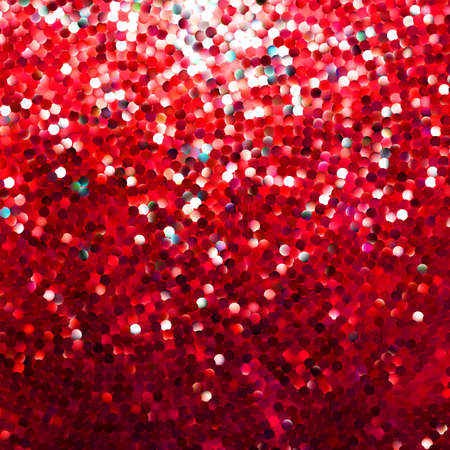 shimmering: Amazing template design on red glittering background