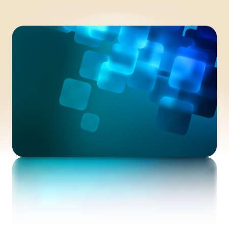 Beautiful gift card Stock Vector - 15015859
