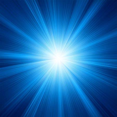 schittering: Een blauwe kleur ontwerp met een uitbarsting, EPS, 8 opgenomen