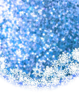 Abstract winter background with copyspace Vector
