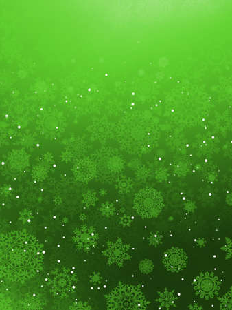 fizz: Christmas background with snowflakes Illustration